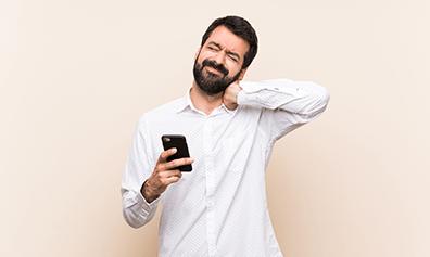 texting neck digital age problem